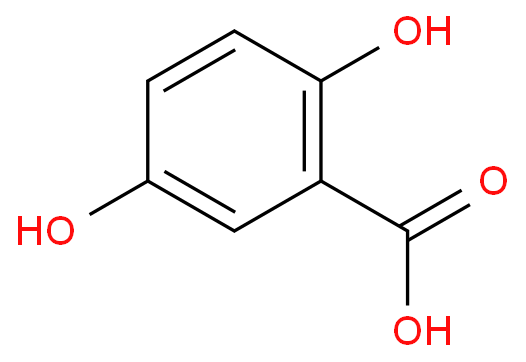 2,5-Dihydroxy benzoic acid   CAS 490-79-9
