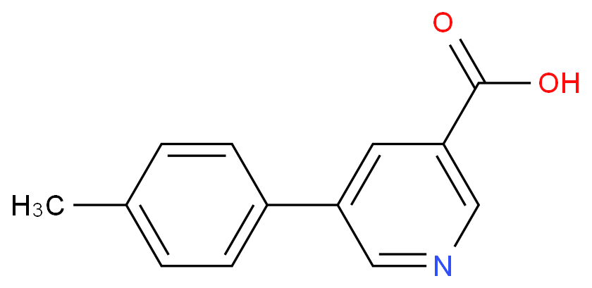 5-(4-METHYLPHENYL)NICOTINIC ACID