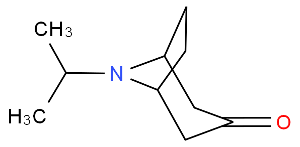 8-Azabicyclo[3.2.1]octan-3-one,8-(1-methylethyl)-