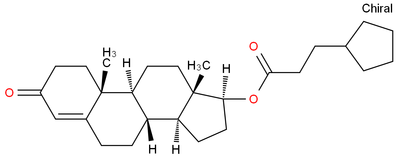 Androst-4-en-3-one,17-(3-cyclopentyl-1-oxopropoxy)-, (17b)-