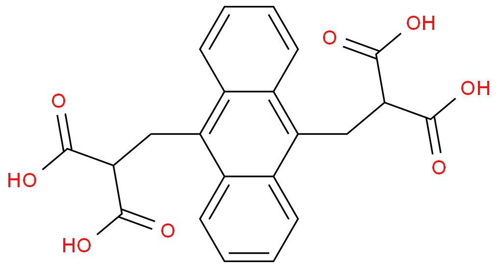 9,10-Anthracenediyl-bis(methylene)dimalonic acid