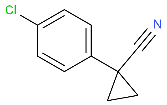 Cyclopropanecarbonitrile,1-(4-chlorophenyl)-