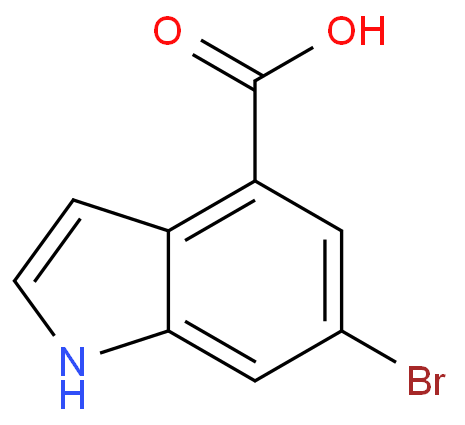 1H-Indole-4-carboxylicacid, 6-bromo-