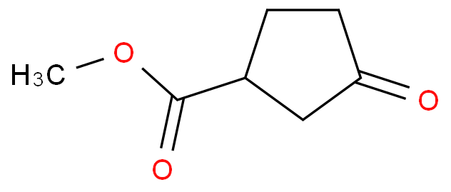 Cyclopentanecarboxylic acid, 3-oxo-, methyl ester
