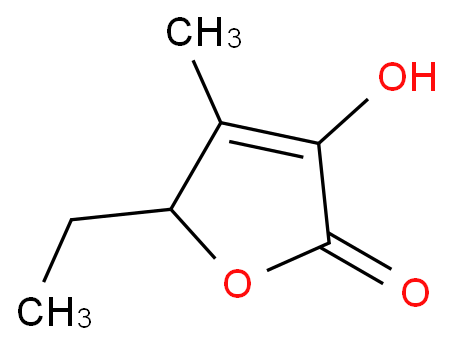 2(5H)-Furanone,5-ethyl-3-hydroxy-4-methyl-