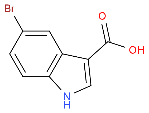 1H-Indole-3-carboxylicacid, 5-bromo-
